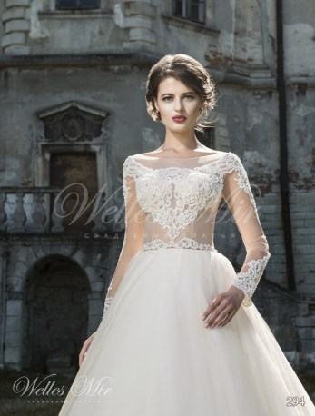 Ball wedding gown-1