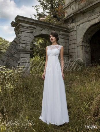 Cвадебное платье ампир-1