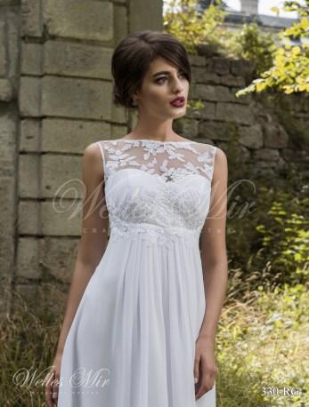 Cвадебное платье ампир-2