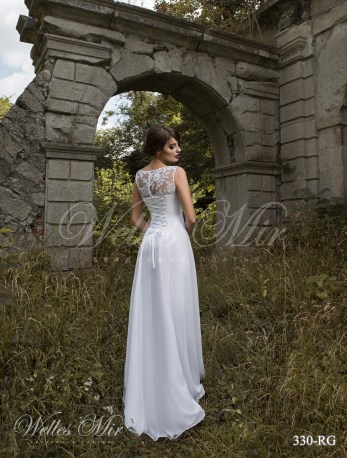 Cвадебное платье ампир-3