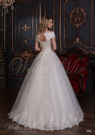 Свадебное платье из евросетки-3