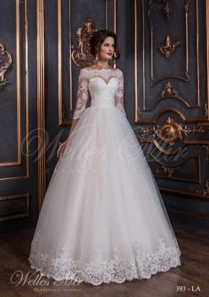 Свадебное платье из тафты-1