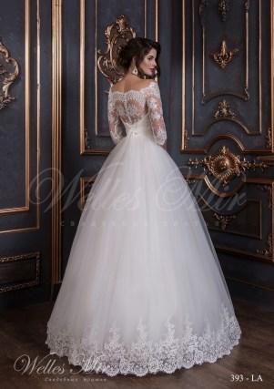 Rochie de mireasa din tafta-3
