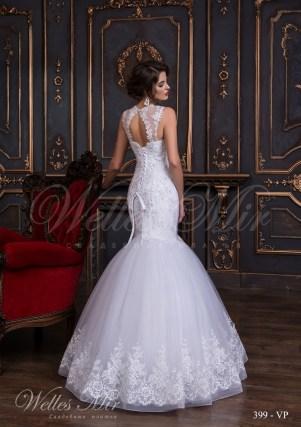 Свадебное платье с фальш-декольте-3