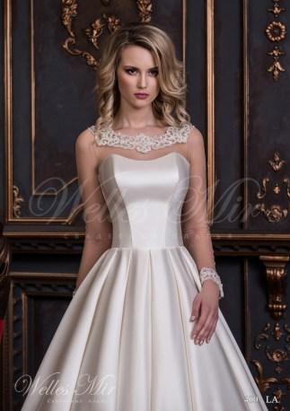 Шовкова весільна сукня-2