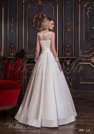 Шелковое свадебное платье-3