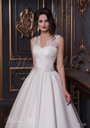 Свадебное платье цвета айвори-2