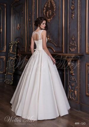 Свадебное платье цвета айвори-3