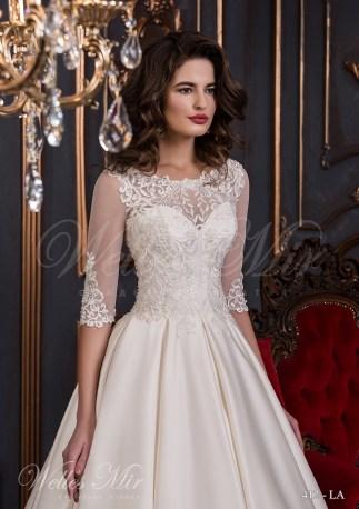 Свадебное платье с большими складками-2