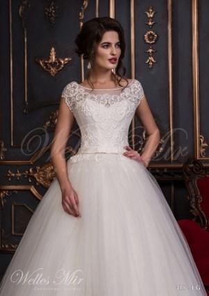 Свадебное платье с закрытыми плечами-2