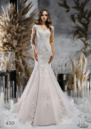 lace wedding dress mermaid  purchase wholesale-1