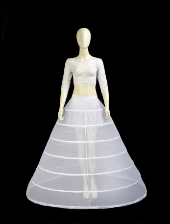 Where to buy a petticoat with rings for a wedding dress-1