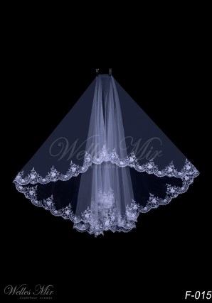 Elbow bridal veil-1