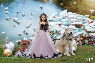 Детские платья Kids Deluxe Collection 2018 017-2