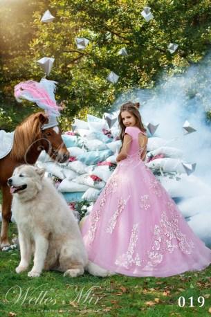 Детские платья Kids Deluxe Collection 2018 019-2