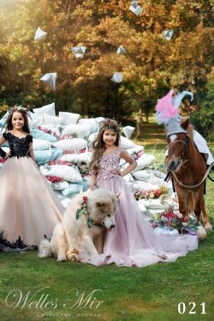 Детские платья Kids Deluxe Collection 2018 021-1