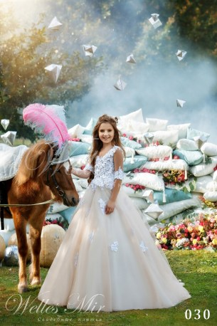 Детские платья Kids Deluxe Collection 2018 030-1