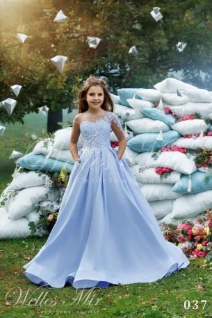 Детские платья Kids Deluxe Collection 2018 037-1