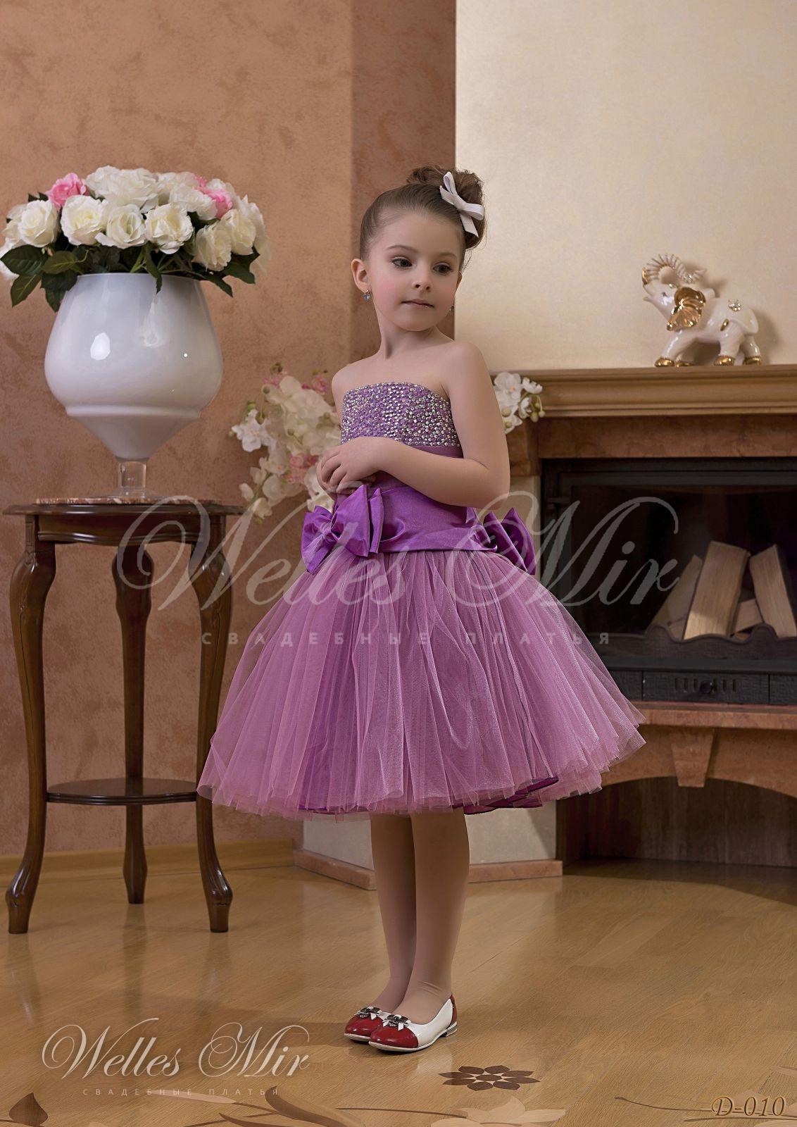 Детские платья Детские платья 1 - D-010