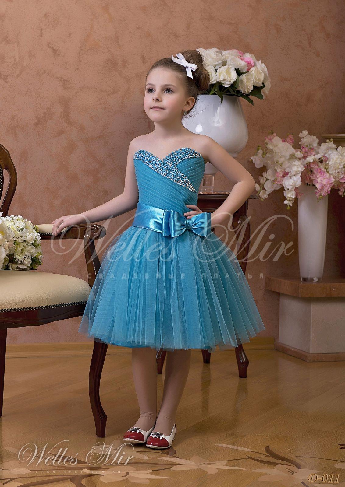 Детские платья Детские платья 1 - D-011