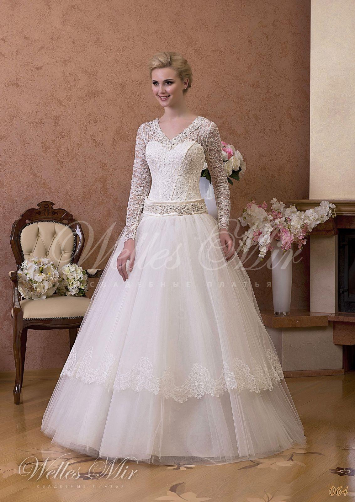 Свадебные платья Gentle Rose - 064
