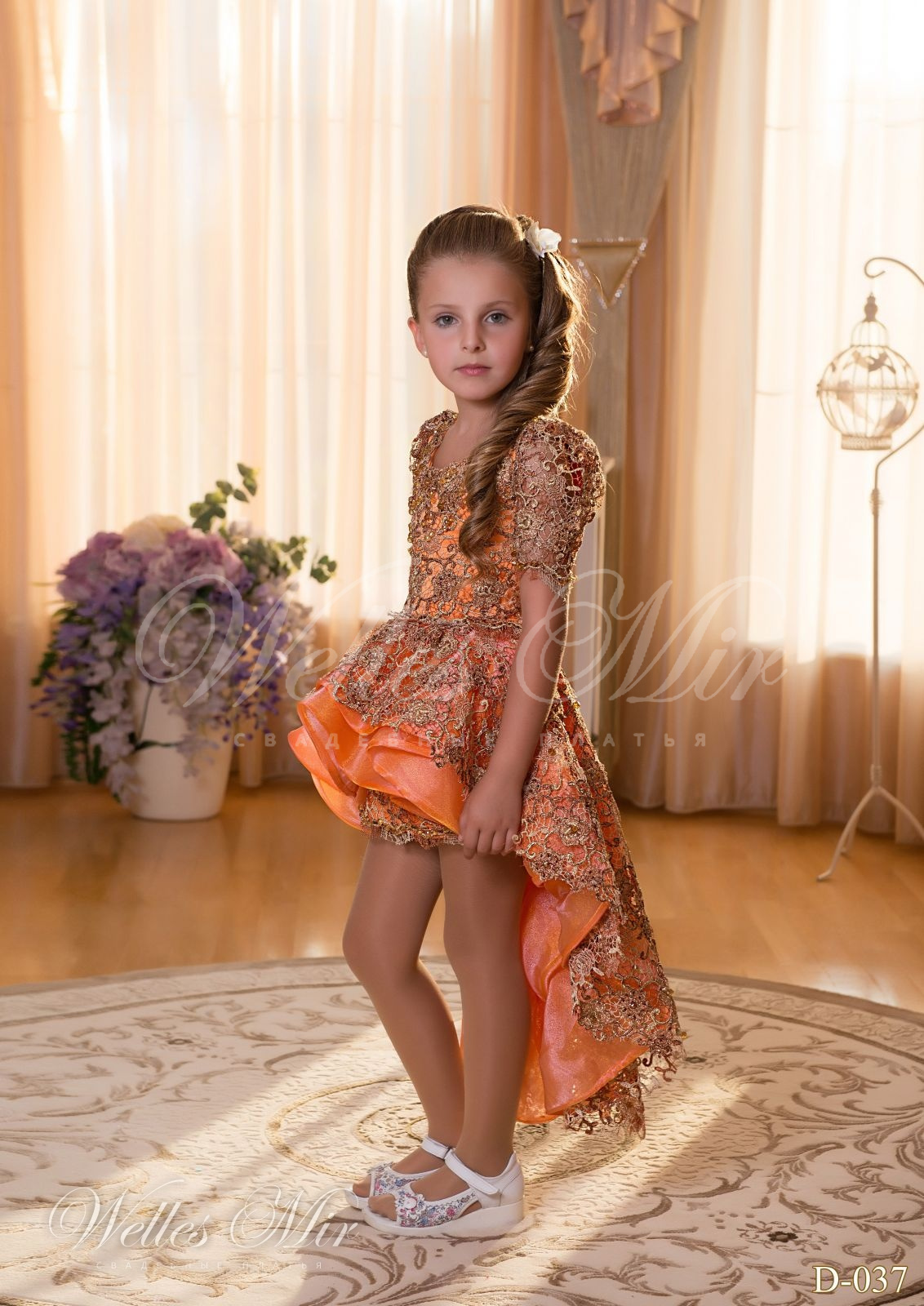Детские платья Детские платья 2015 - D-037