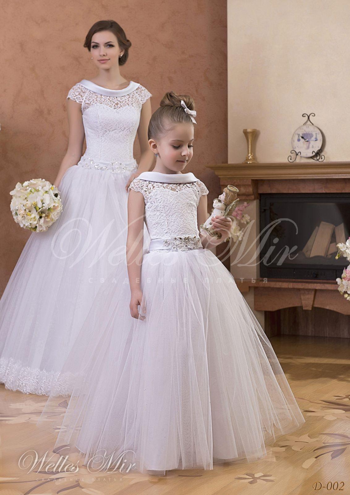 Детские платья Детские платья 1 - D-002