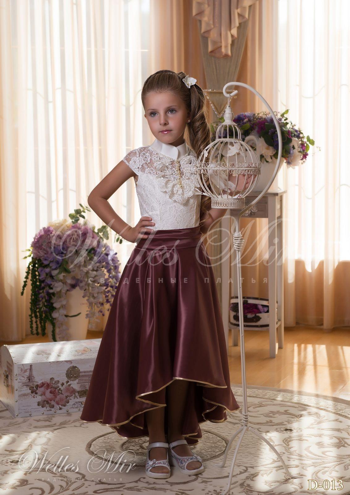 Детские платья Детские платья 2015 - D-013