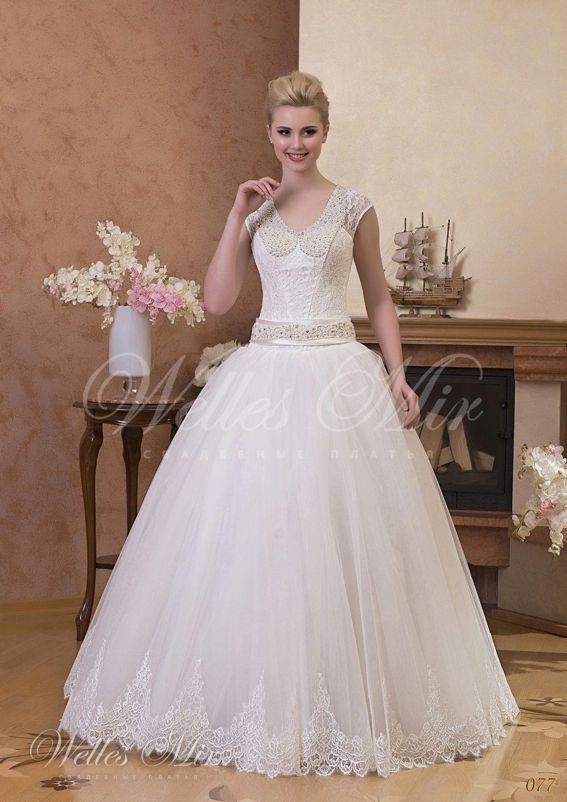 Свадебные платья Gentle Rose - 077