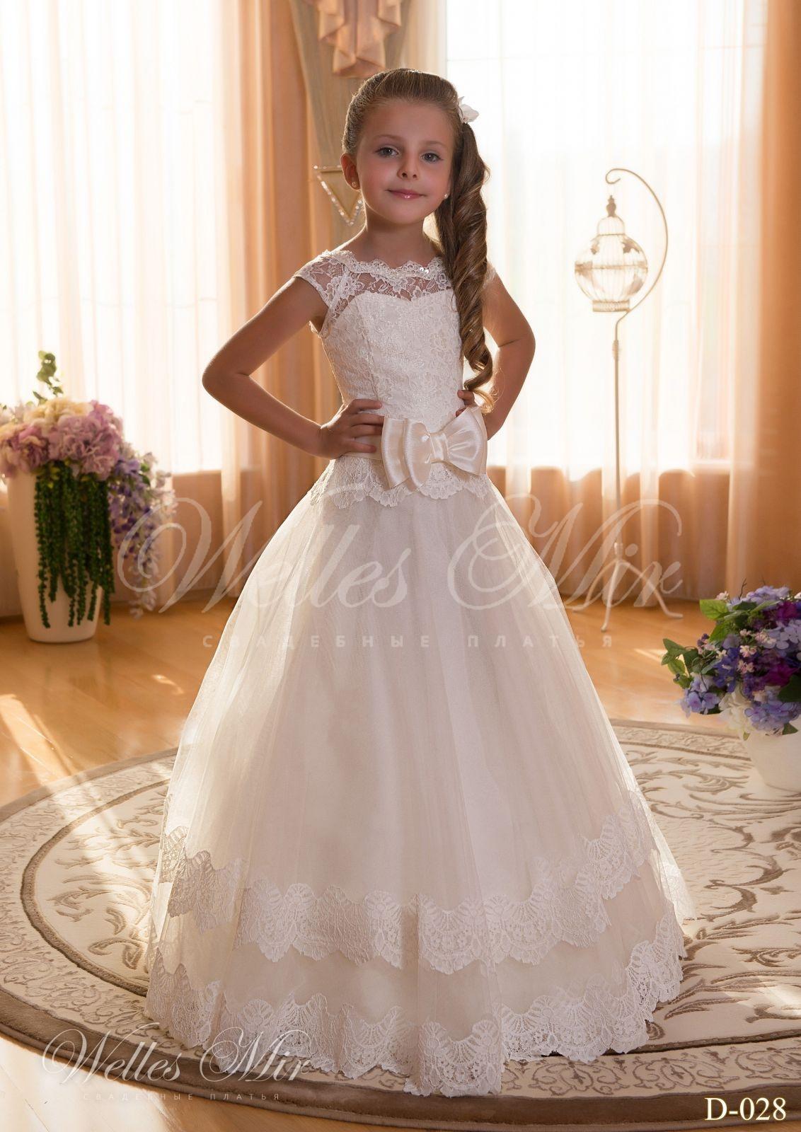 Детские платья Детские платья 2015 - D-028