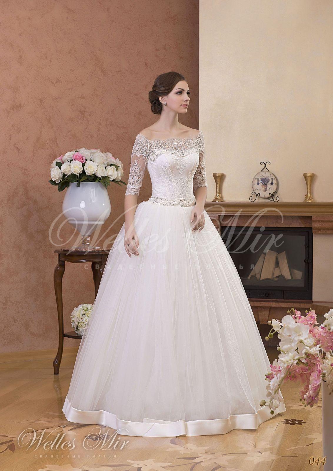 Свадебные платья Gentle Rose - 044