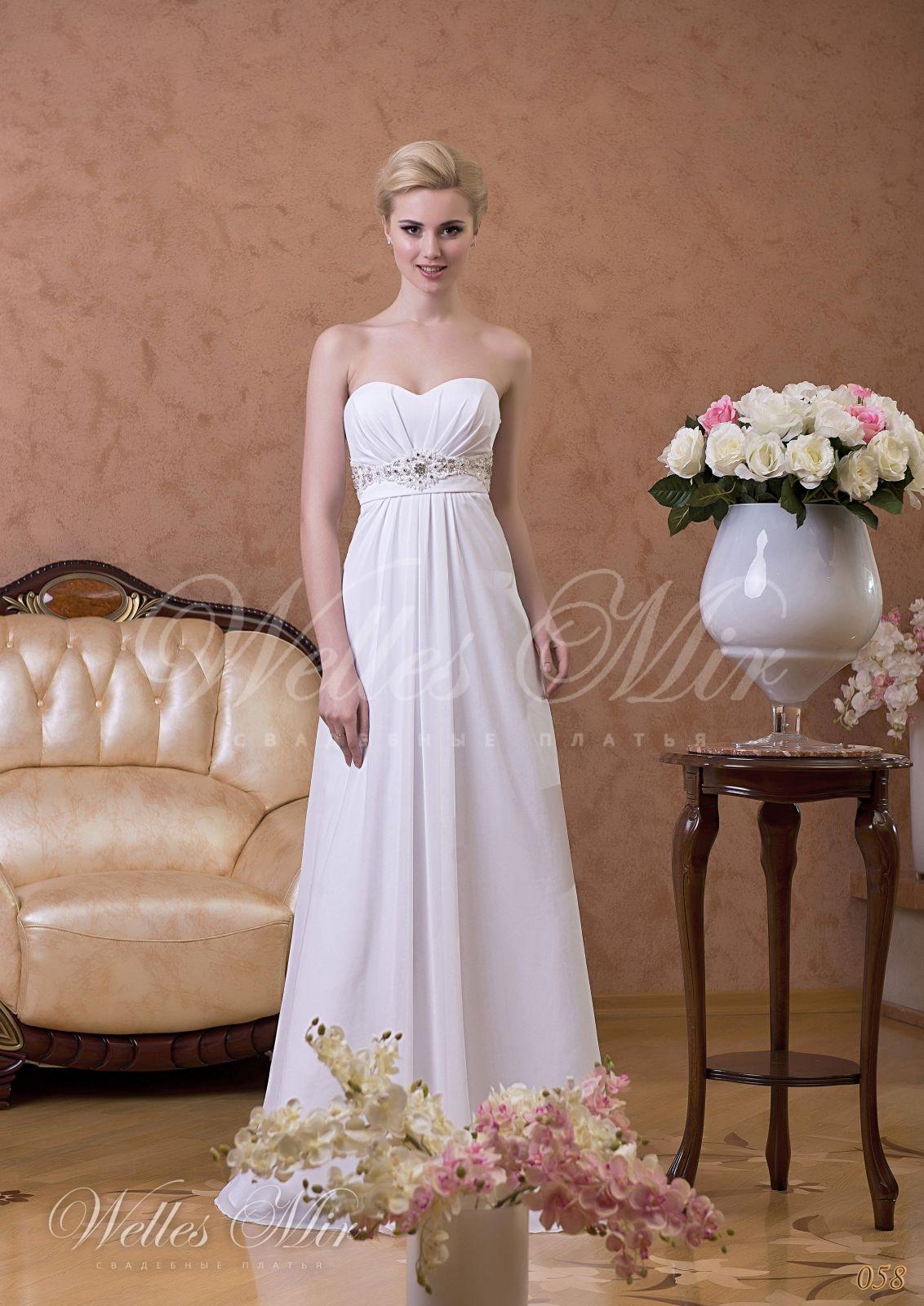Свадебные платья Gentle Rose - 058