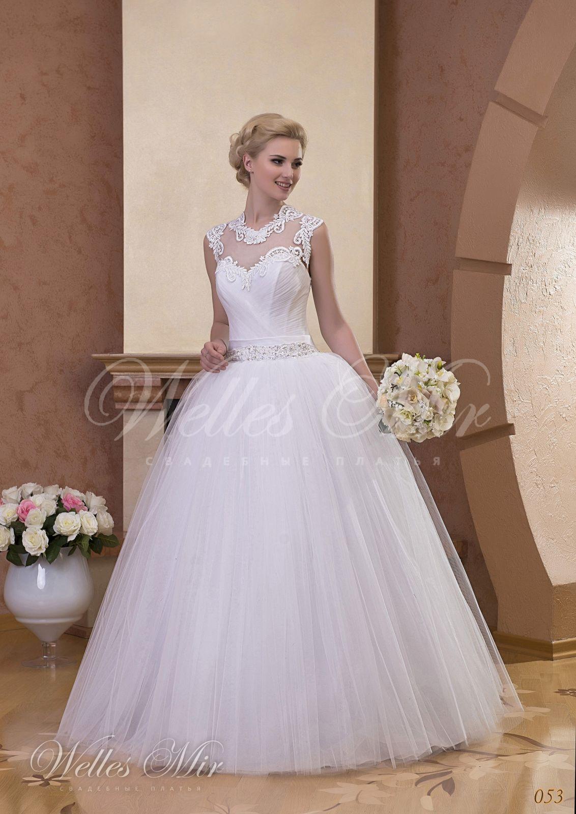 Свадебные платья Gentle Rose - 053