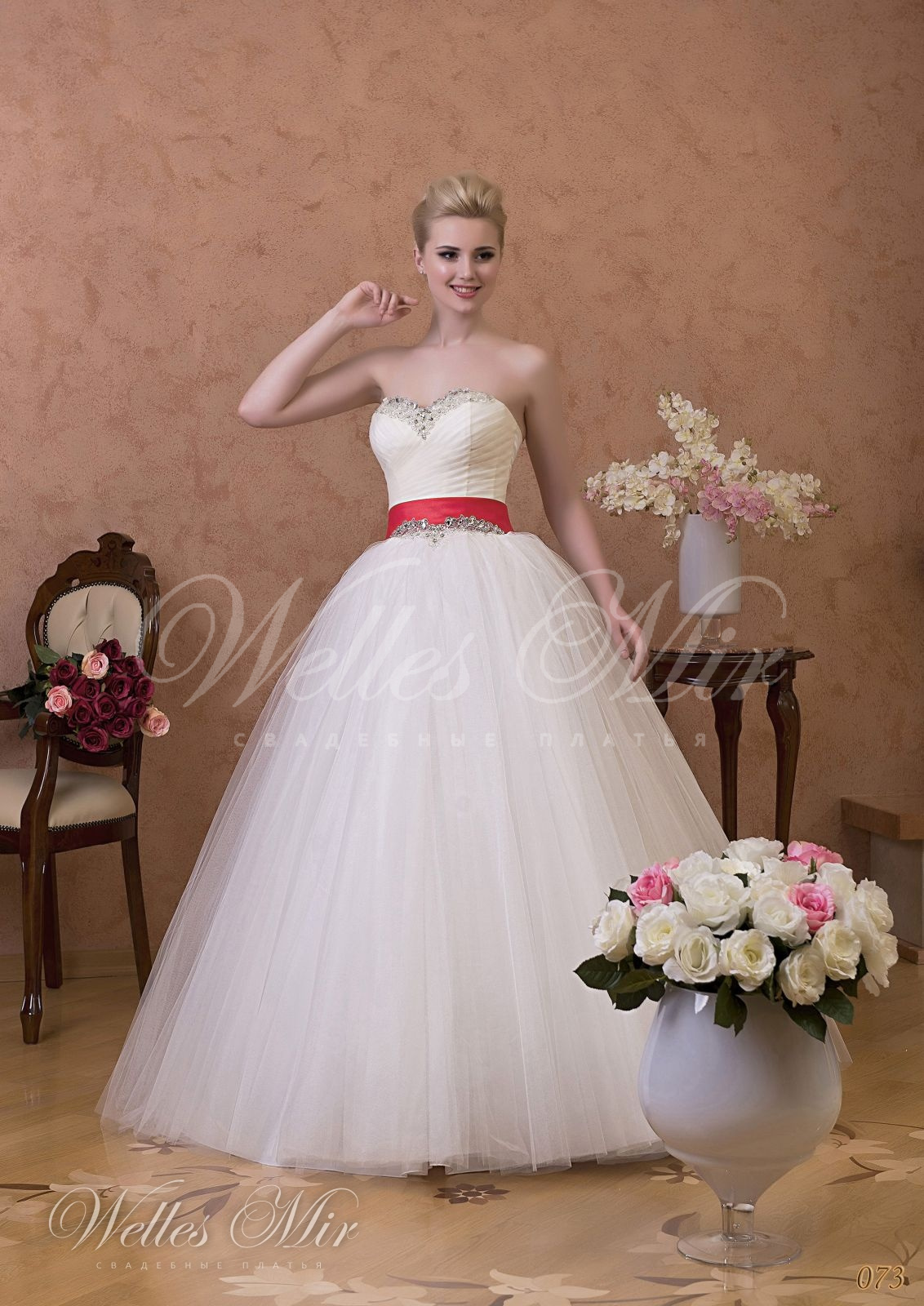 Свадебные платья Gentle Rose - 073