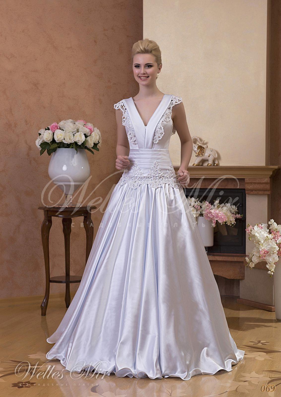 Свадебные платья Gentle Rose - 069