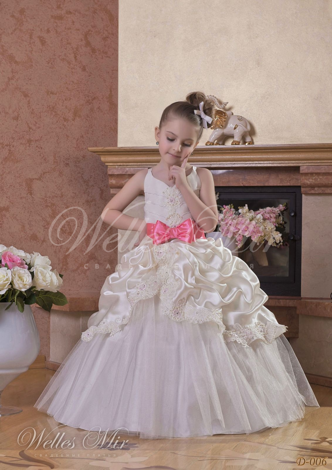 Детские платья Детские платья 1 - D-006