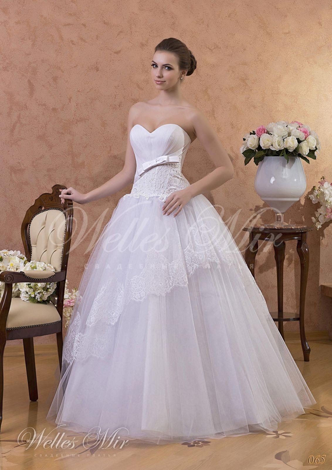 Свадебные платья Gentle Rose - 065