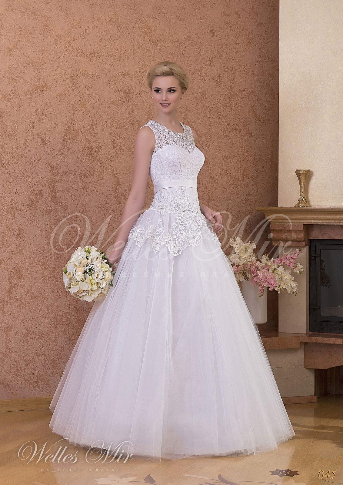 Свадебные платья Gentle Rose - 045