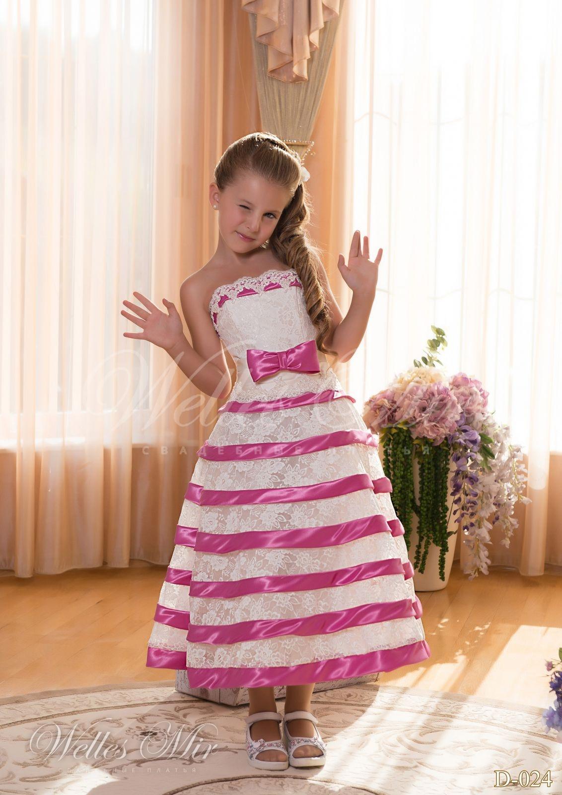 Детские платья Детские платья 2015 - D-024
