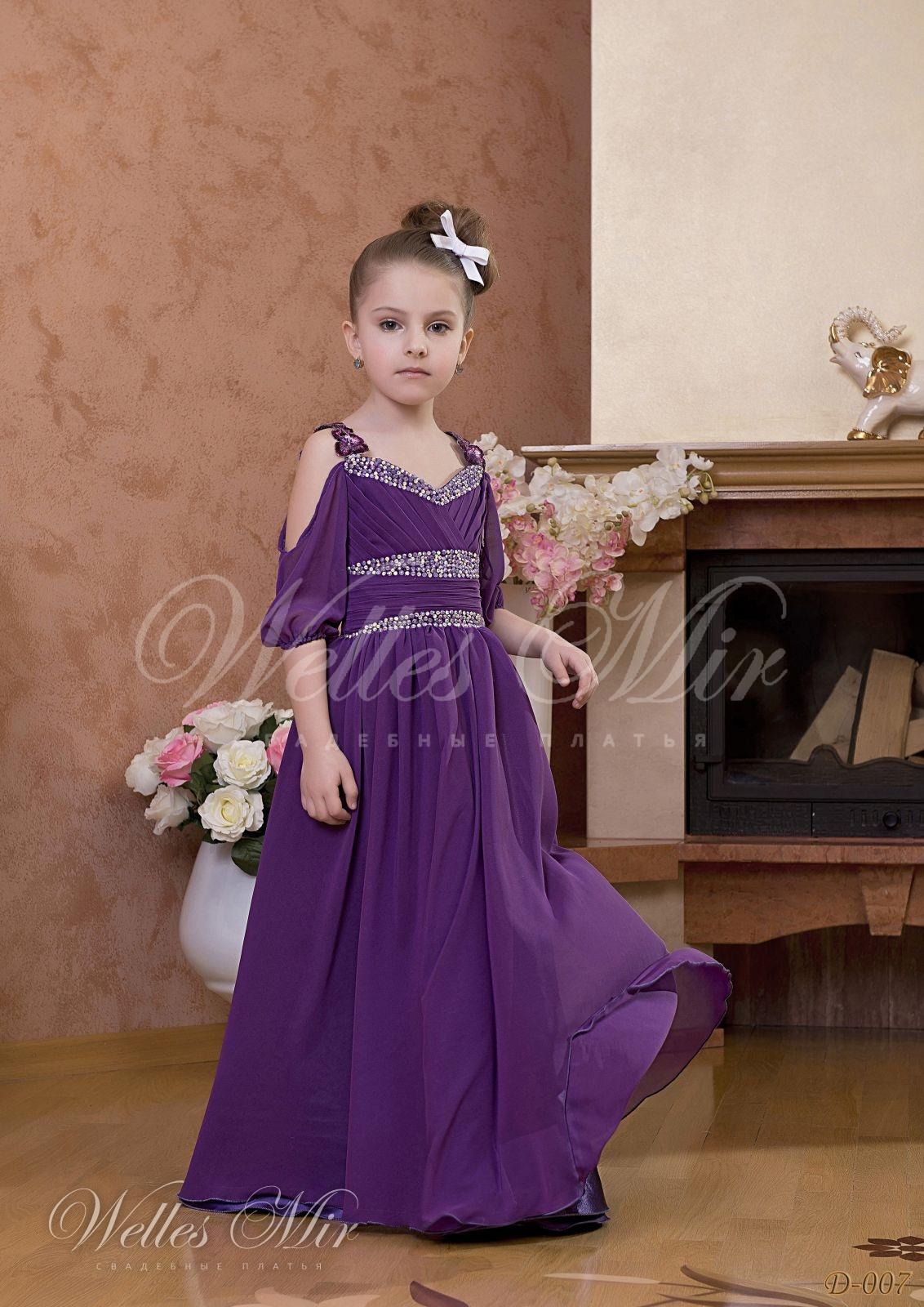 Детские платья Детские платья 1 - D-007
