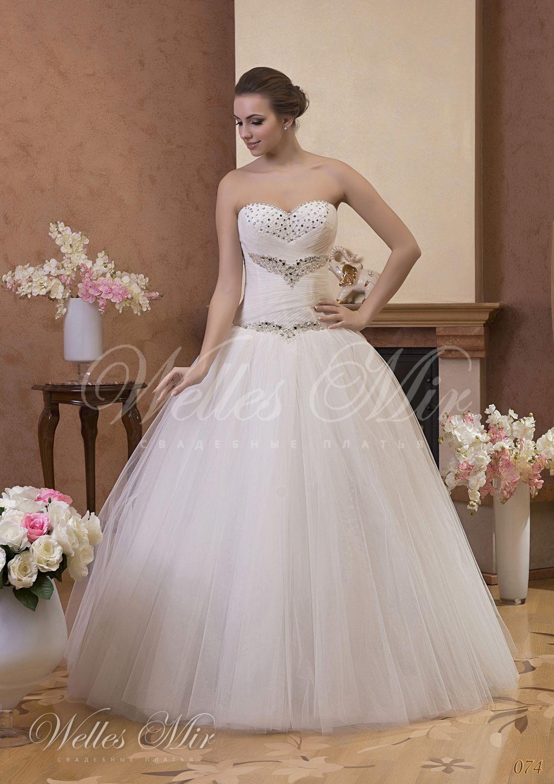 Свадебные платья Gentle Rose - 074
