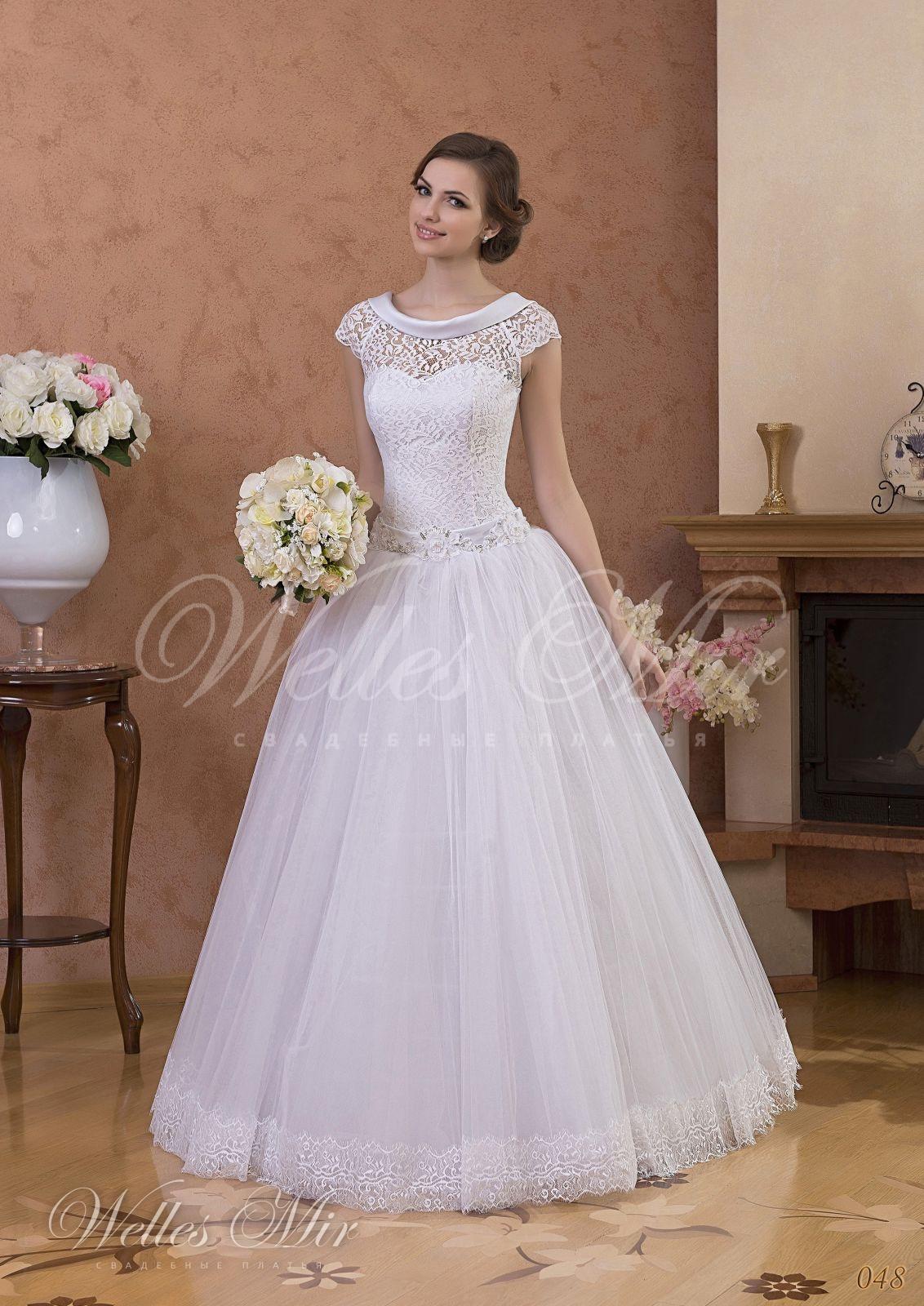 Свадебные платья Gentle Rose - 048