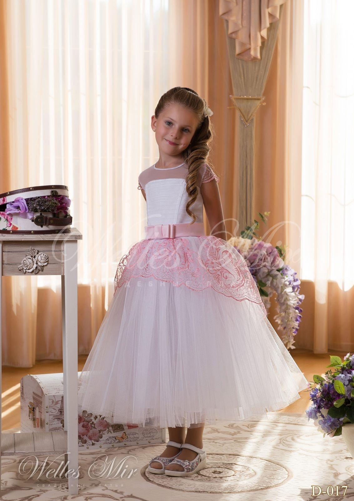 Детские платья Детские платья 2015 - D-017