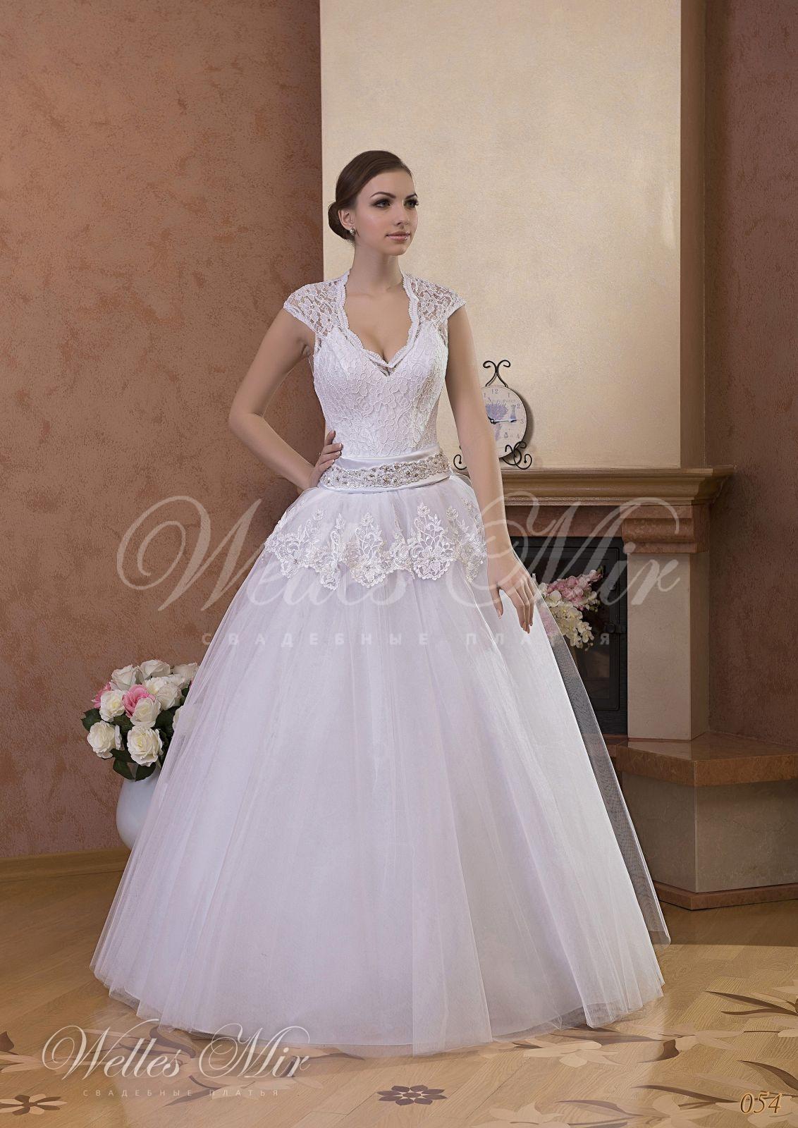 Свадебные платья Gentle Rose - 054