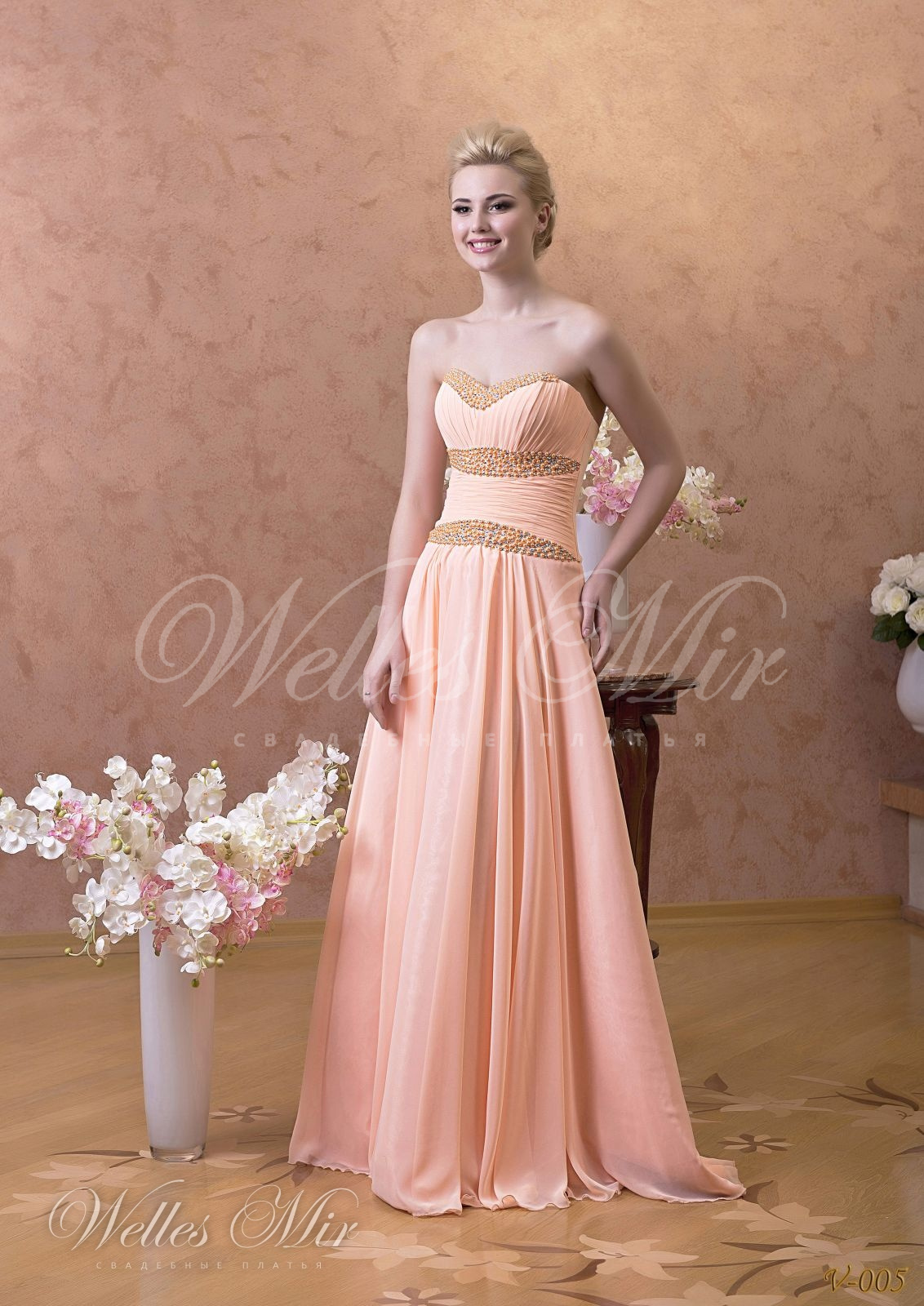 Вечерние платья Вечерние платья - V-005
