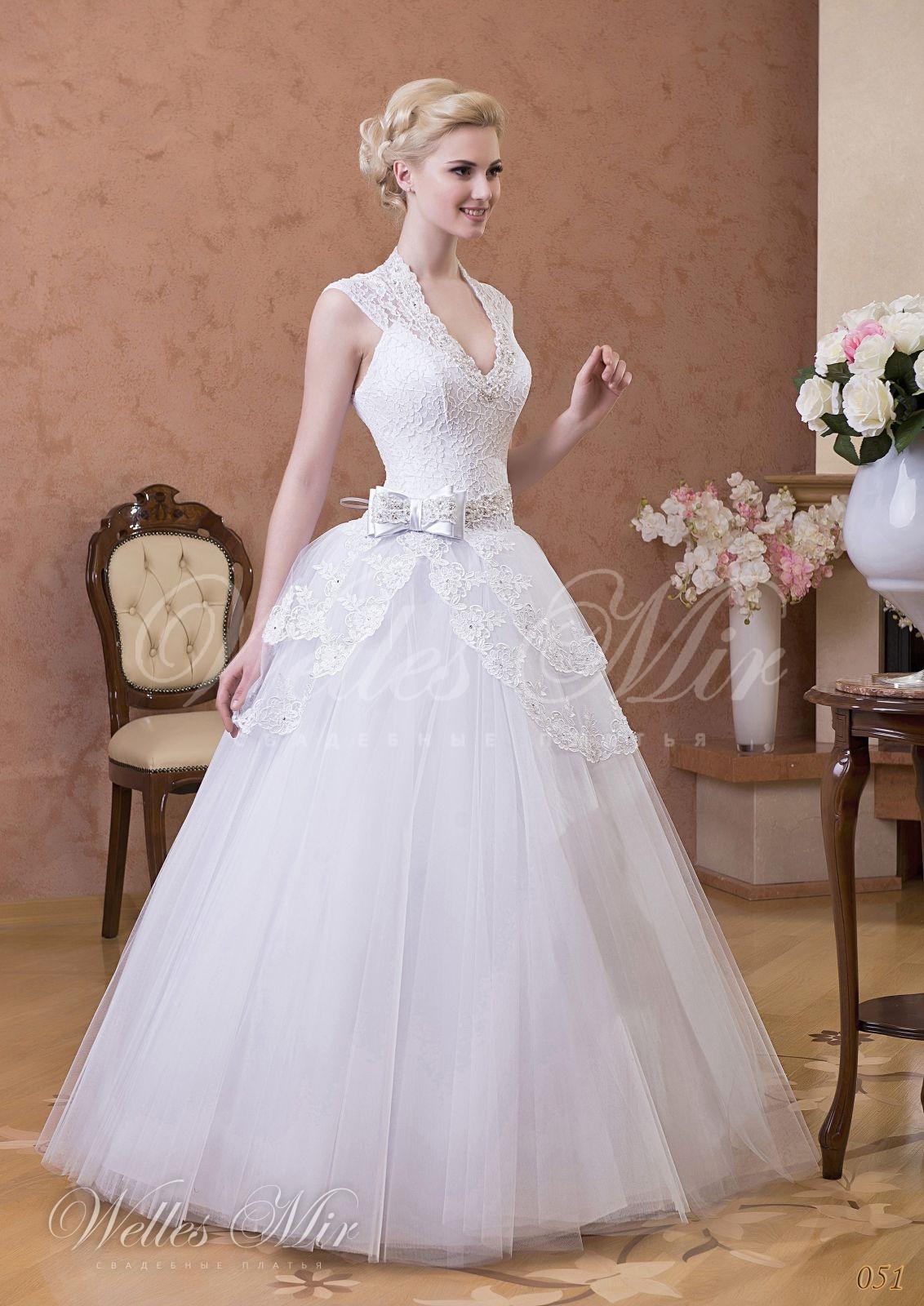 Свадебные платья Gentle Rose - 051