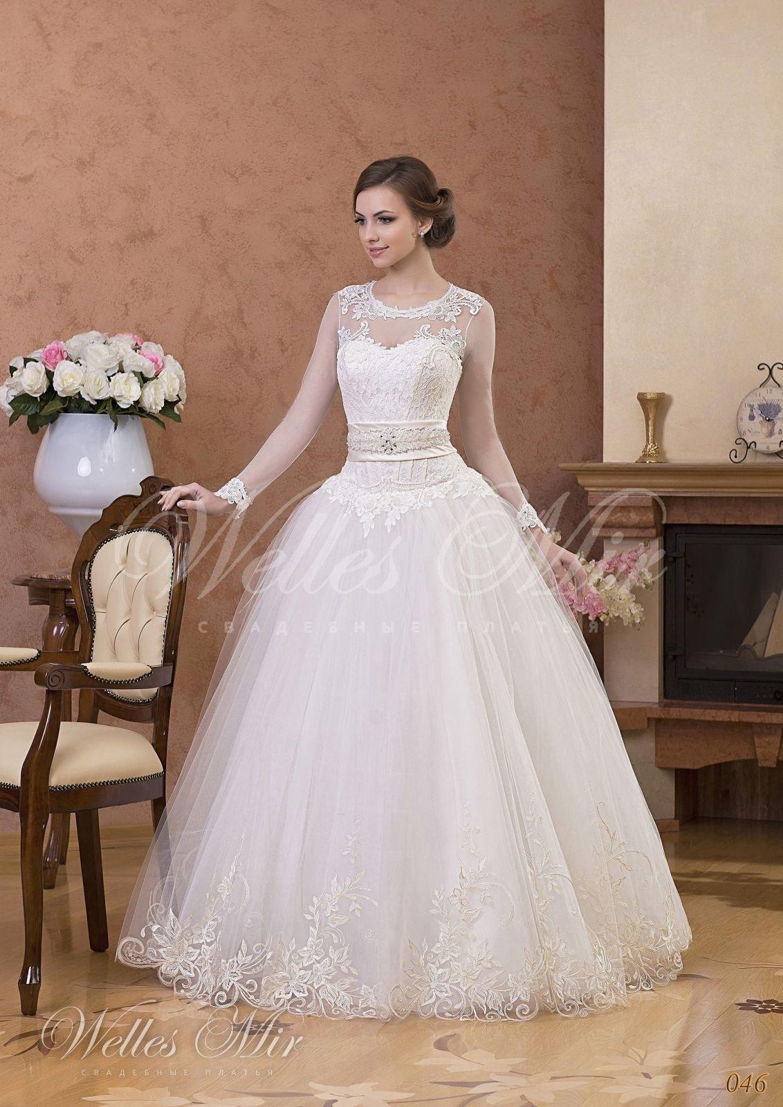 Свадебные платья Gentle Rose - 046