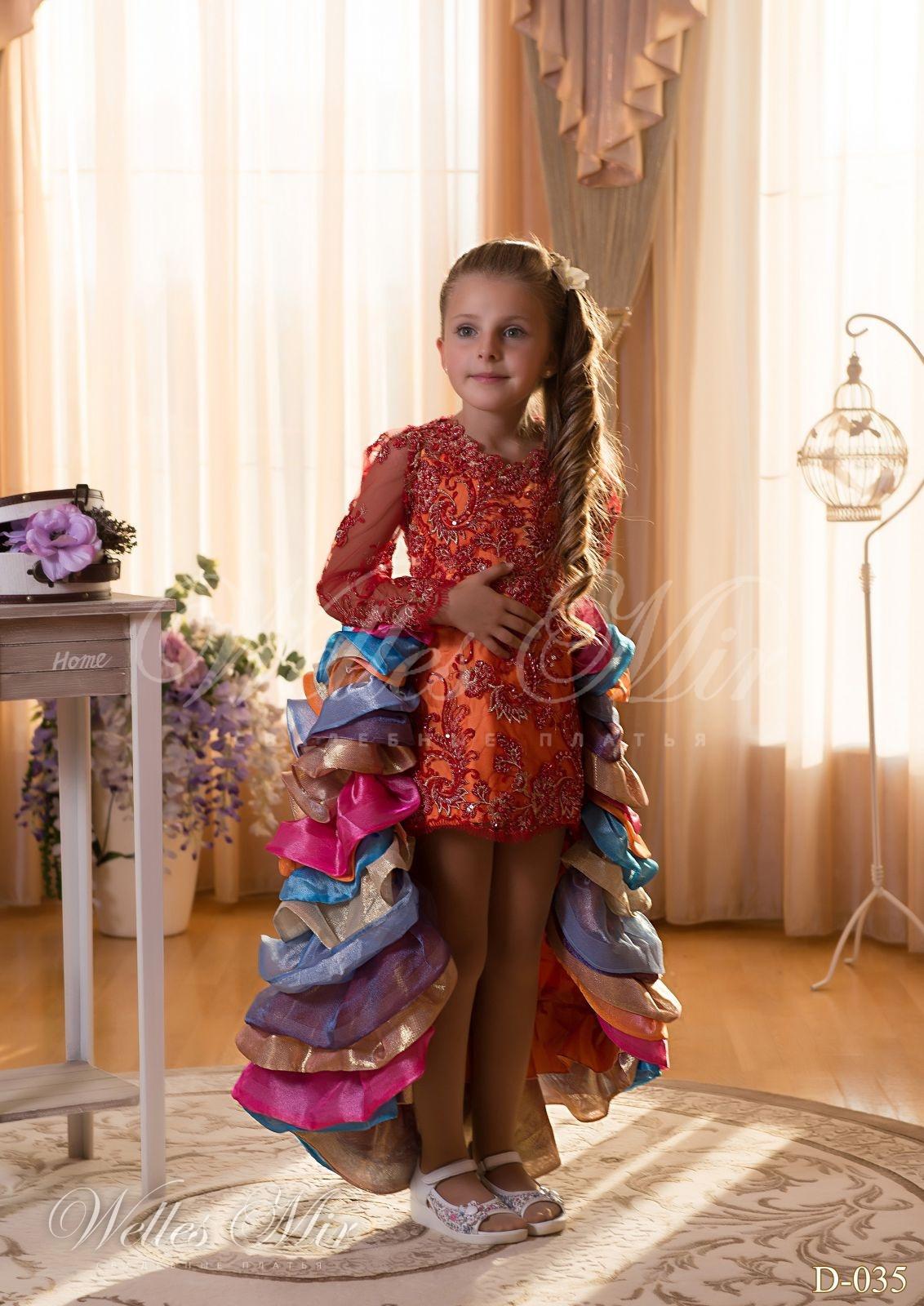 Детские платья Детские платья 2015 - D-035