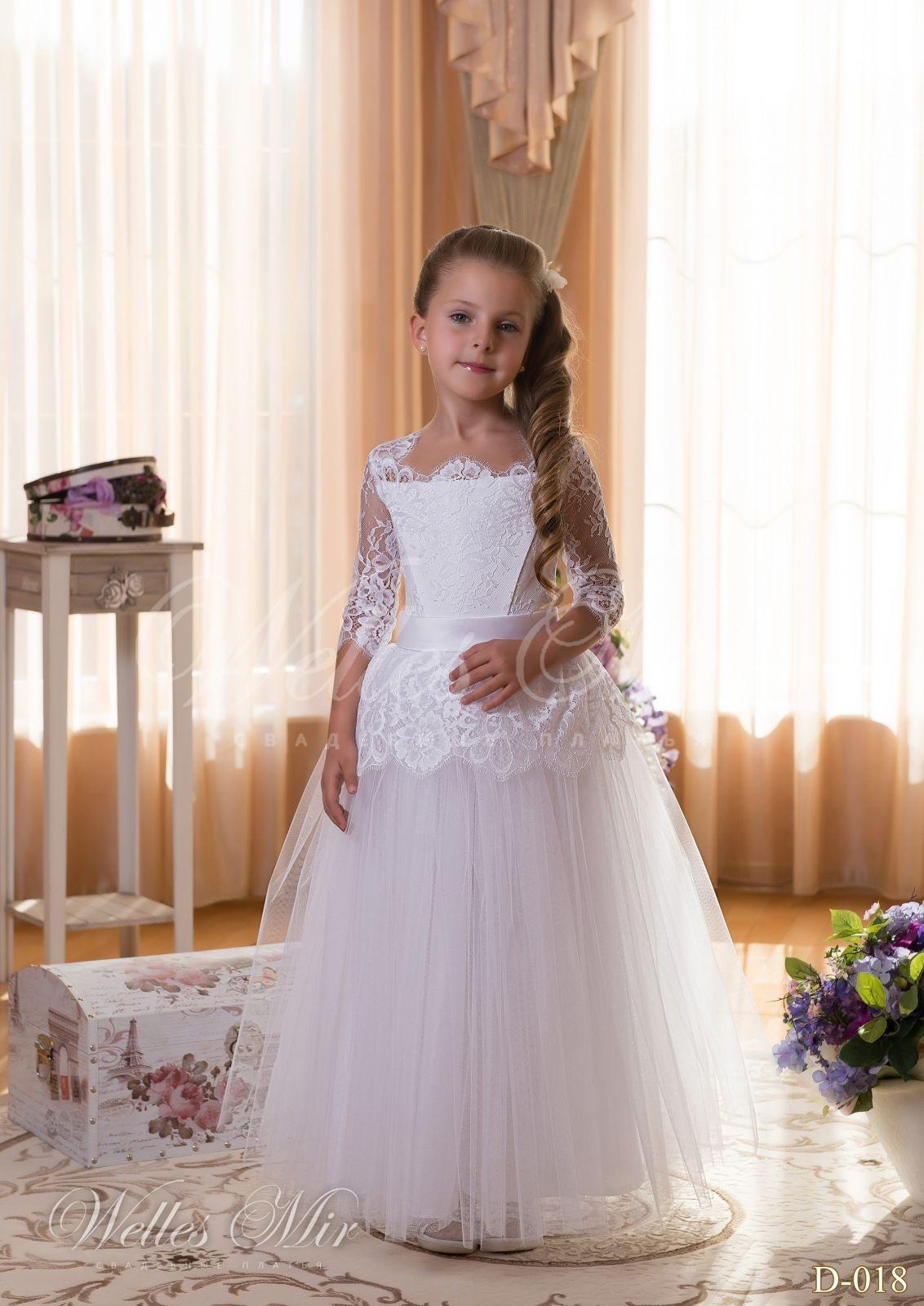 Детские платья Детские платья 2015 - D-018