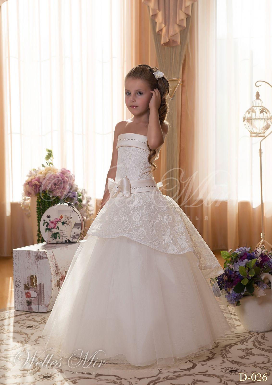 Детские платья Детские платья 2015 - D-026